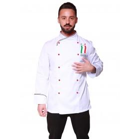 GIACCA CUOCO MODELLO ITALIA UNISEX PNM
