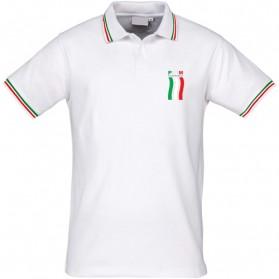 SET di 2 POLO UNISEX CON PROFILO ITALIA PNM